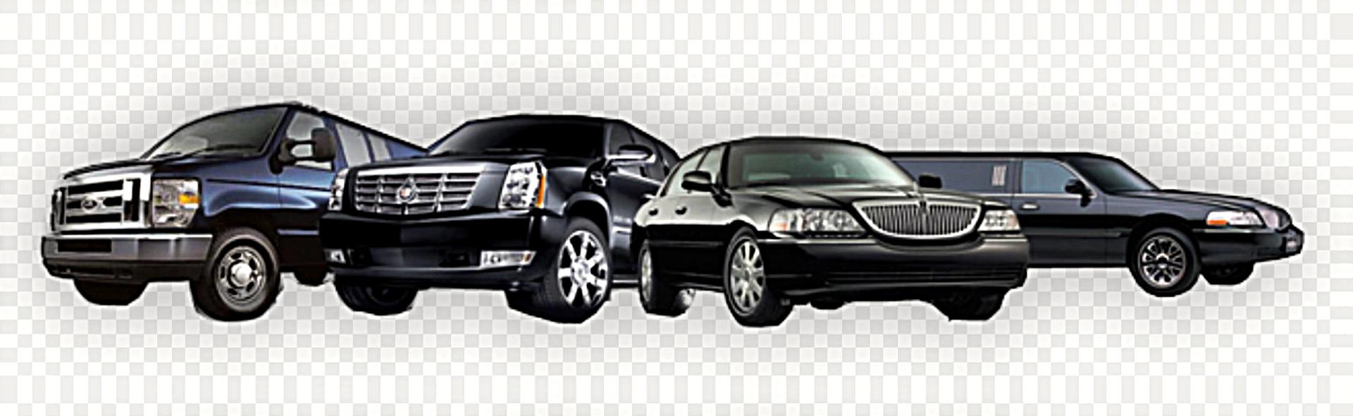 4 black cars